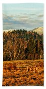 Fall Landscape-hdr Beach Towel