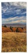 Fall On Whitetop Mountain Beach Towel