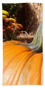 Fall Pumpkin Beach Towel