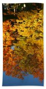 Fall Reflectionsin Michigan Beach Towel