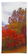 Fall Retreat Beach Towel