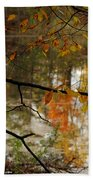 Fall River Branches Beach Towel
