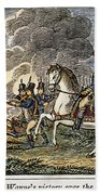 Fallen Timbers Battle Beach Towel