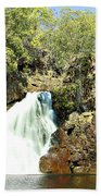 Falling Waters V2 Beach Towel