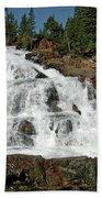 Falls Glen Alpine Falls Tahoe Beach Towel