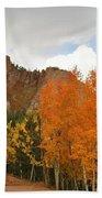 Fall's Glory Beach Towel