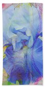 Fanciful Flowers - Iris Beach Towel