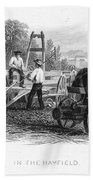 Farming, C1870 Beach Towel