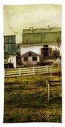 Farmland In Intercourse - Pennsylvania Beach Towel