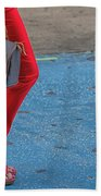 Fashionably Red Beach Towel