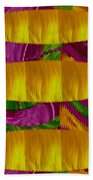 Feather Collage 1 Beach Towel