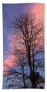February Sunset Beach Towel