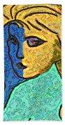 Feminine Kaleidoscope Beach Towel