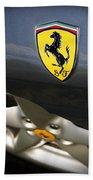 Ferrari 360 Spider F1 Beach Towel