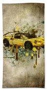 Ferrari Dino 246 Gts Beach Towel