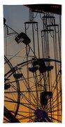 Ferris Wheels Beach Towel