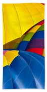 Field Of Color Beach Towel