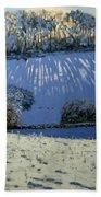 Field Of Shadows Beach Sheet