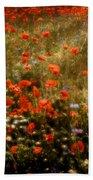 Field Of Wildflowers Beach Towel
