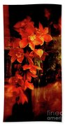 Fiery Ladies Beach Towel