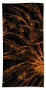 Fiery Beach Towel