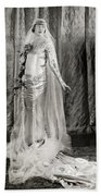 Film: Fair Lady, 1922 Beach Towel