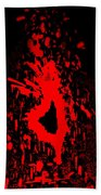 Fire Dance Beach Towel