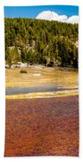 Firehole Lake Beach Towel