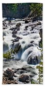 Firehole River IIi Beach Towel
