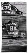 Fireman - Fire Helmets Beach Towel