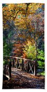 Fire's Creek Bridge Beach Towel