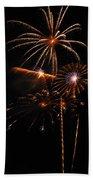 Fireworks 1580 Beach Towel