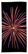 Fireworks 7 Beach Towel