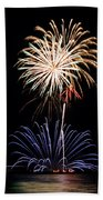 Fireworks  Abound Beach Towel