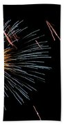 Fireworks Fun 1 Beach Towel