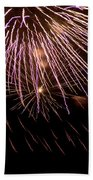 Fireworks Fun 14 Beach Towel