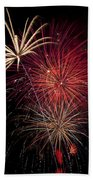 Fireworks Beach Towel