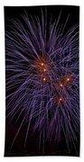 Fireworks Beach Towel by Joana Kruse