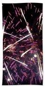 Fireworks Number 5 Beach Towel