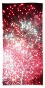 Fireworks Number 7 Beach Towel