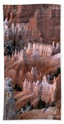 First Light In Bryce Canyon Beach Towel