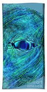 Fish Eye Beach Towel