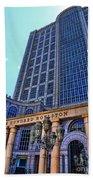 Five Hundred Boylston - Boston Architecture Beach Towel