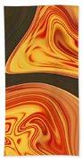 Flaming River Beach Towel
