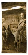 Flight Into Egypt - Wieliczka Salt Mine Beach Towel