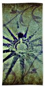 Floral Abstract Beach Towel
