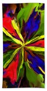 Floral Abstraction 090312 Beach Towel