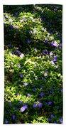 Floral Carpet Beach Towel