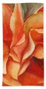 Floral Flash Beach Towel