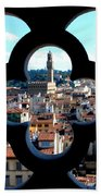 Florence Through A Unique Lens Beach Towel